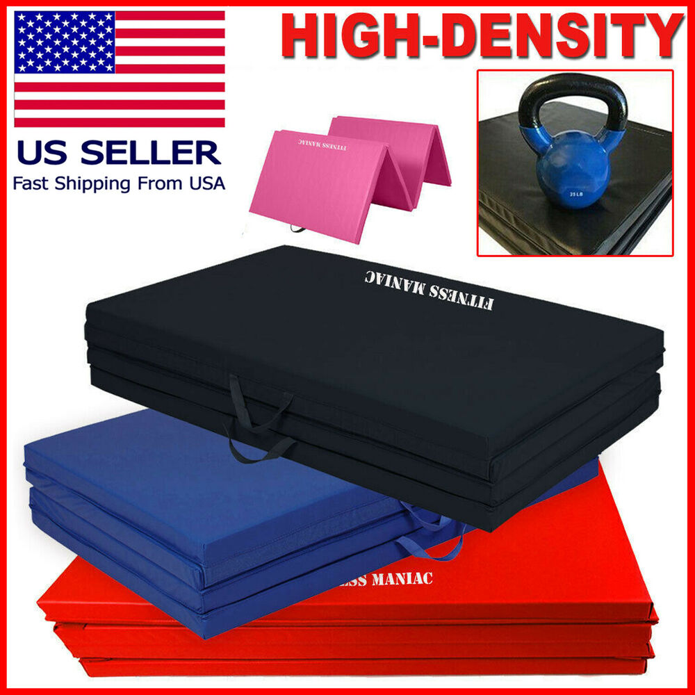 Heavy Duty Folding Mat Thick Foam Fitness Exercise
