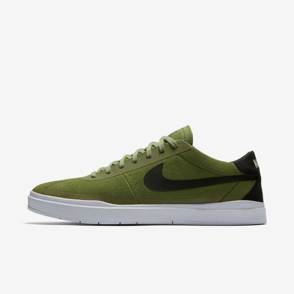 52b2446e2a72 Details about NIKE SB BRUIN HYPERFEEL PALM GREEN BLACK WHITE SIZE 6 7.5 9  NEW