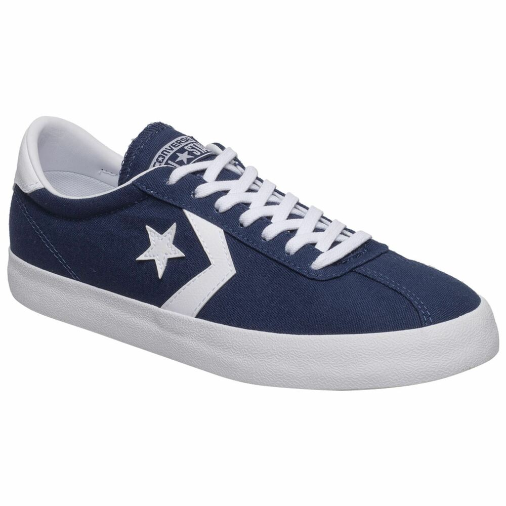 b0acbadf52a4 Details about Converse Breakpoint Ox Midnight Navy White Mens Canvas  Low-Top Retro Trainers