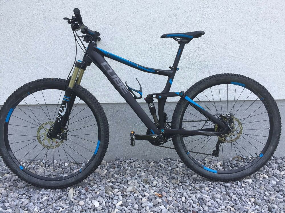 Cube Stereo 120 HPA Race 29 Suspension Mountainbike 18 Zoll Shimano ...