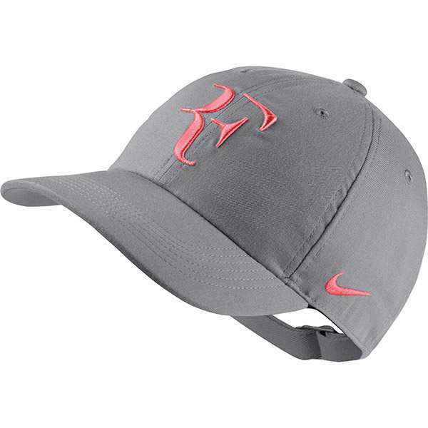 Details about New Nike RF Aerobill H86 Cap Roger Federer Hat Tennis Dri Fit  AH6985-027 Grey e3657f37351