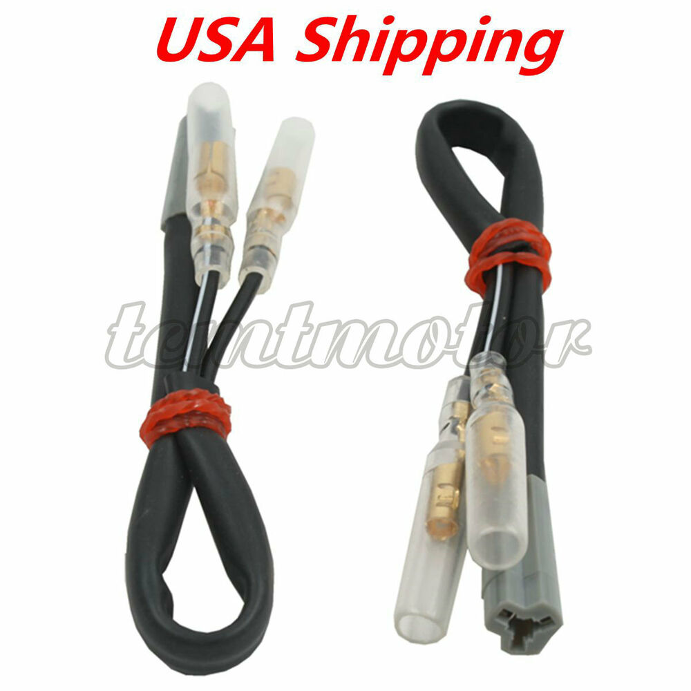 details about turn signal wiring harness connector adapter plug for yamaha  yzf r1 r6 98-12 fz1