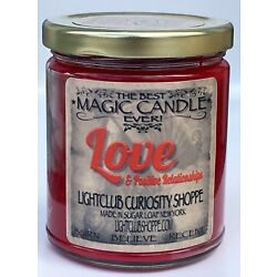 Love s Magic Spell Candle for Love & Attraction - Attract or Heighten Love !