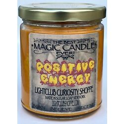 Wiccan Magic Spell Candle for Positive Energy ! Attract Only the Best!
