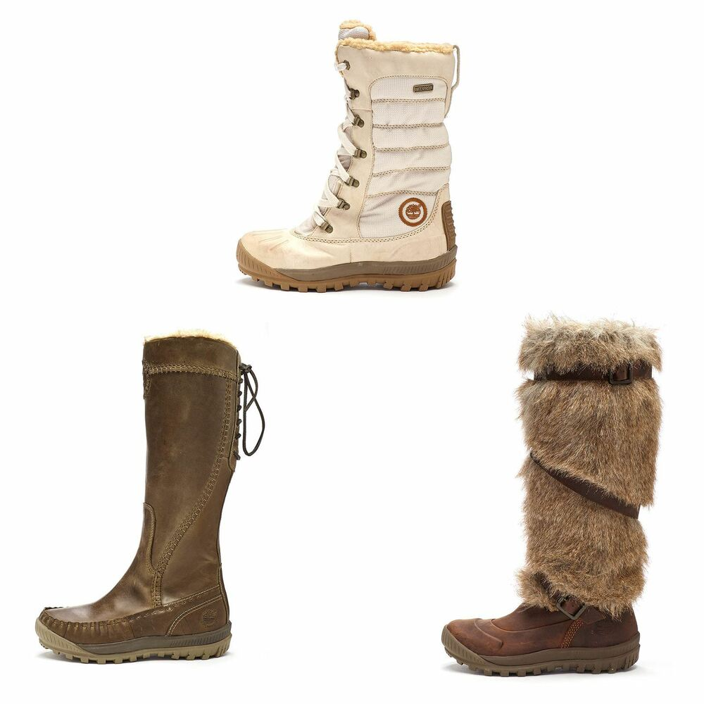 Timberland Earthkeepers Mount Holly Tall Faux Fur