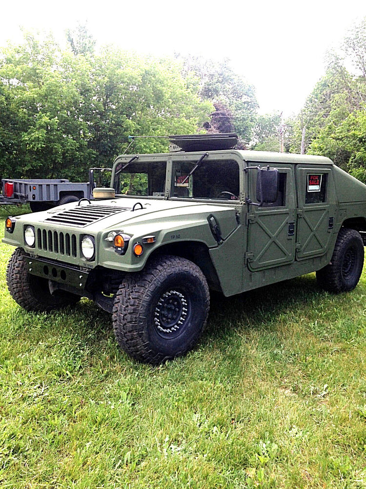 titled am general military humvee hummer h1 slant back 4x4 diesel ebay. Black Bedroom Furniture Sets. Home Design Ideas