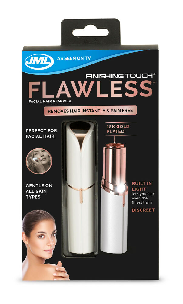 Jml Finishing Touch Flawless The Gold Plated Discreet Hair