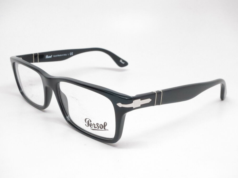 764056d7b70e9 Persol PO 3050V 95 Black Eyeglasses 3050-V 55mm 8053672051018