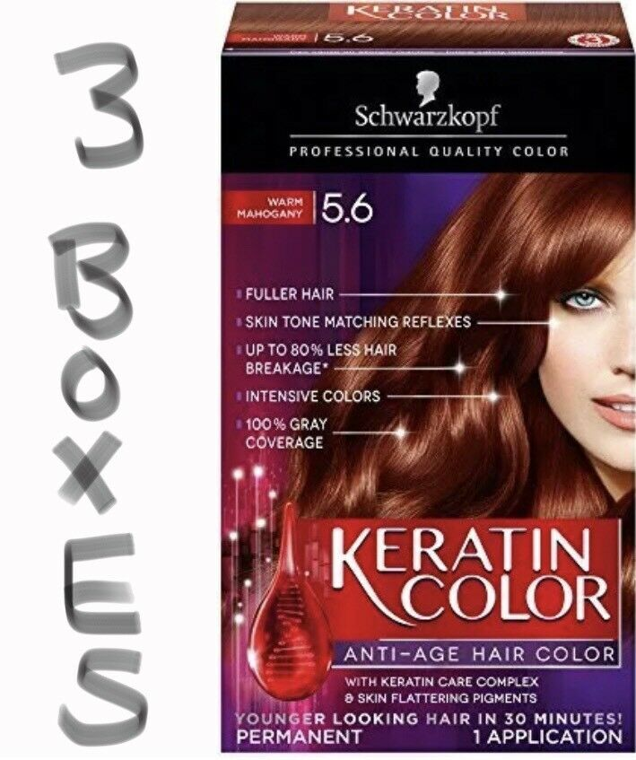 Lot Of 3 Boxes Of Schwarzkopf Professional Quality Color 56 Warm