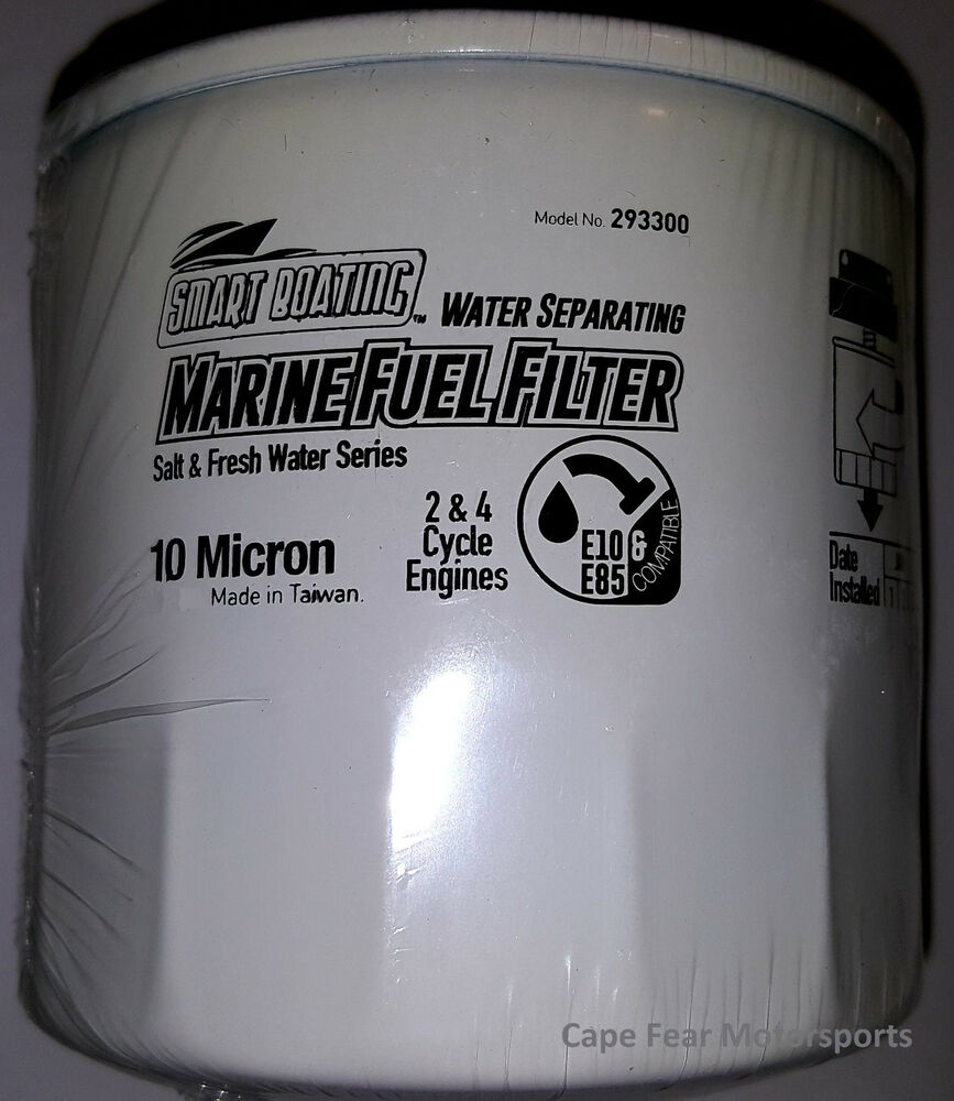intake & fuel systems outboard engines & components fuel water separator  filter 10 micron 2-4 stroke yamaha