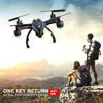 Quadcopter Drone with HD Camera FPV WiFi Live Video Aerial Photos Headless Mode