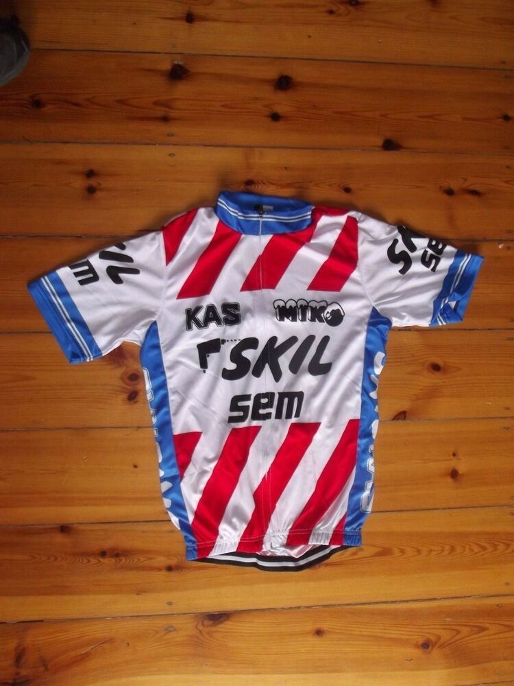 8330507ab Details about Brand New Team Skil Kas Sem Jersey cycling Jersey