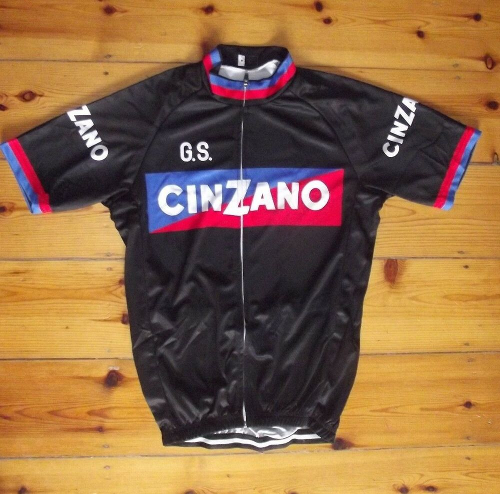 e20c0149b Details about Brand New Team G.S. Cinzano Jersey cycling Jersey