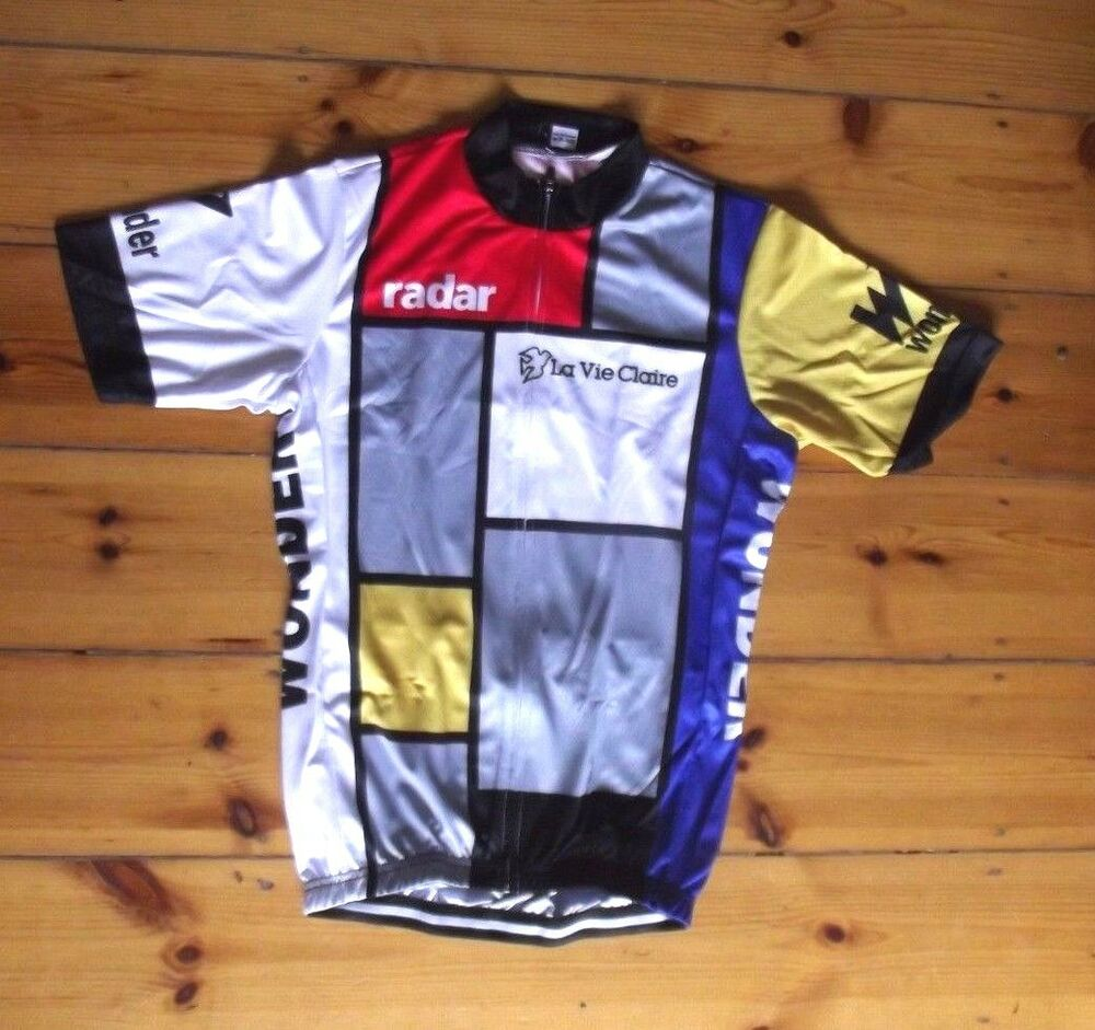 29a2e65c3 Details about Brand New Team La Vie Claire Cycling Jersey