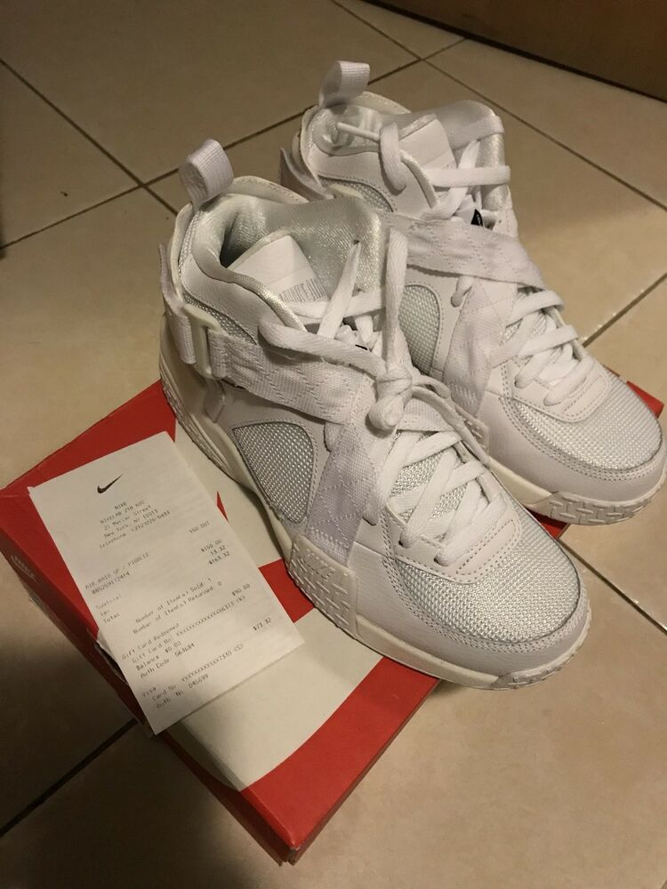 Nike Air Raid Sp Pigalle 729371 729371 Pigalle 500 Nikelab Blanco Hombres Size dc89ad