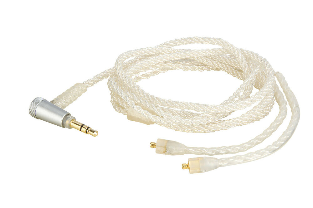 OCC Silver Plated Audio Cable For TFZ Balance 2//2M FENDER DXA Pro FXA Pro series
