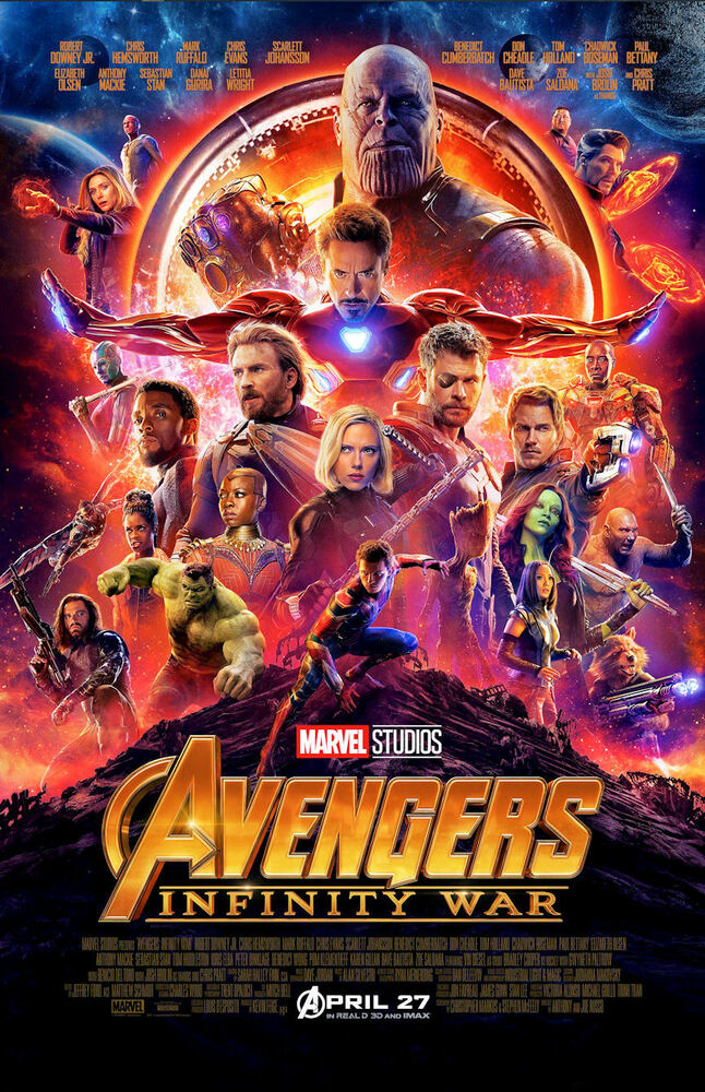 "Avengers Infinity War ( 11"" x 17"" ) Movie Collector's ..."
