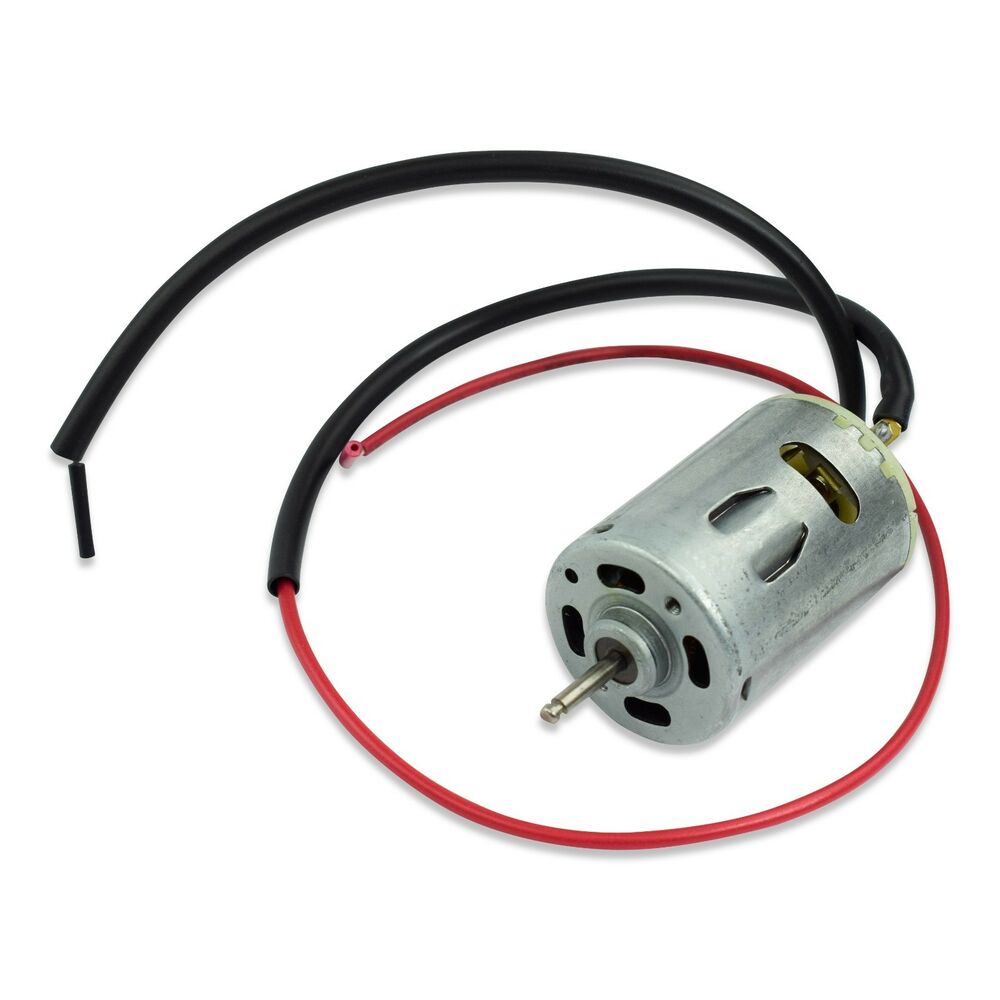 Rv- 12 Volt Fan Motor With Wiring For Roof Top Vents