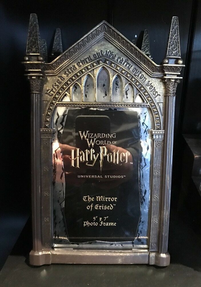 Universal Studios Harry Potter Mirror Of Erised Resin Photo Frame