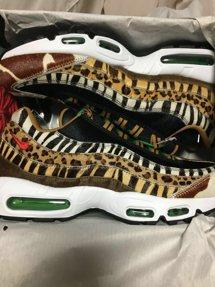1505e6c976fd Details about Nike Air Max 95 airmax DLX Beast Animal Pack 2.0 ATMOS 2018  US8- US11 From Japan