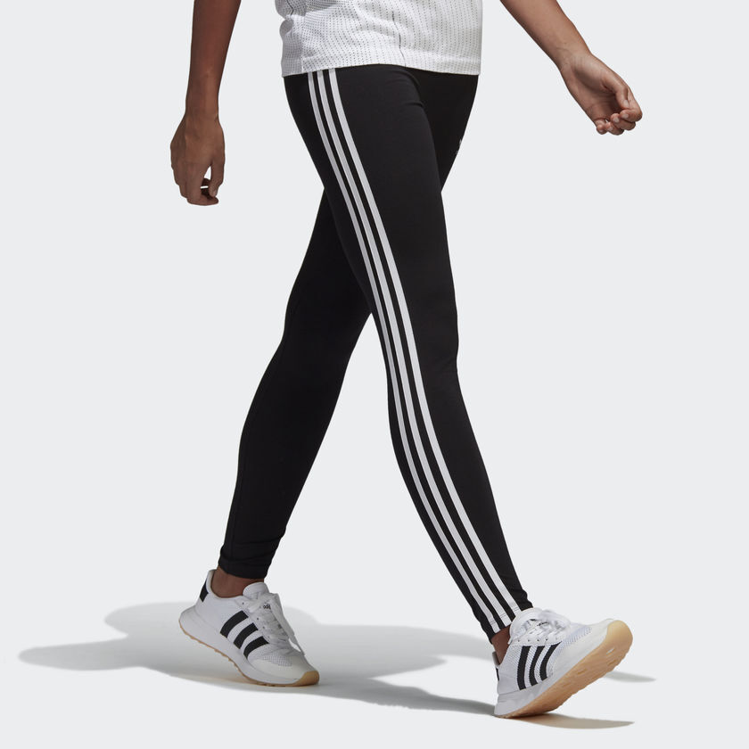 4379481ec84b Details about NEW WOMEN S ADIDAS ORIGINALS 3-STRIPES LEGGINGS  CE2441   BLACK    WHITE