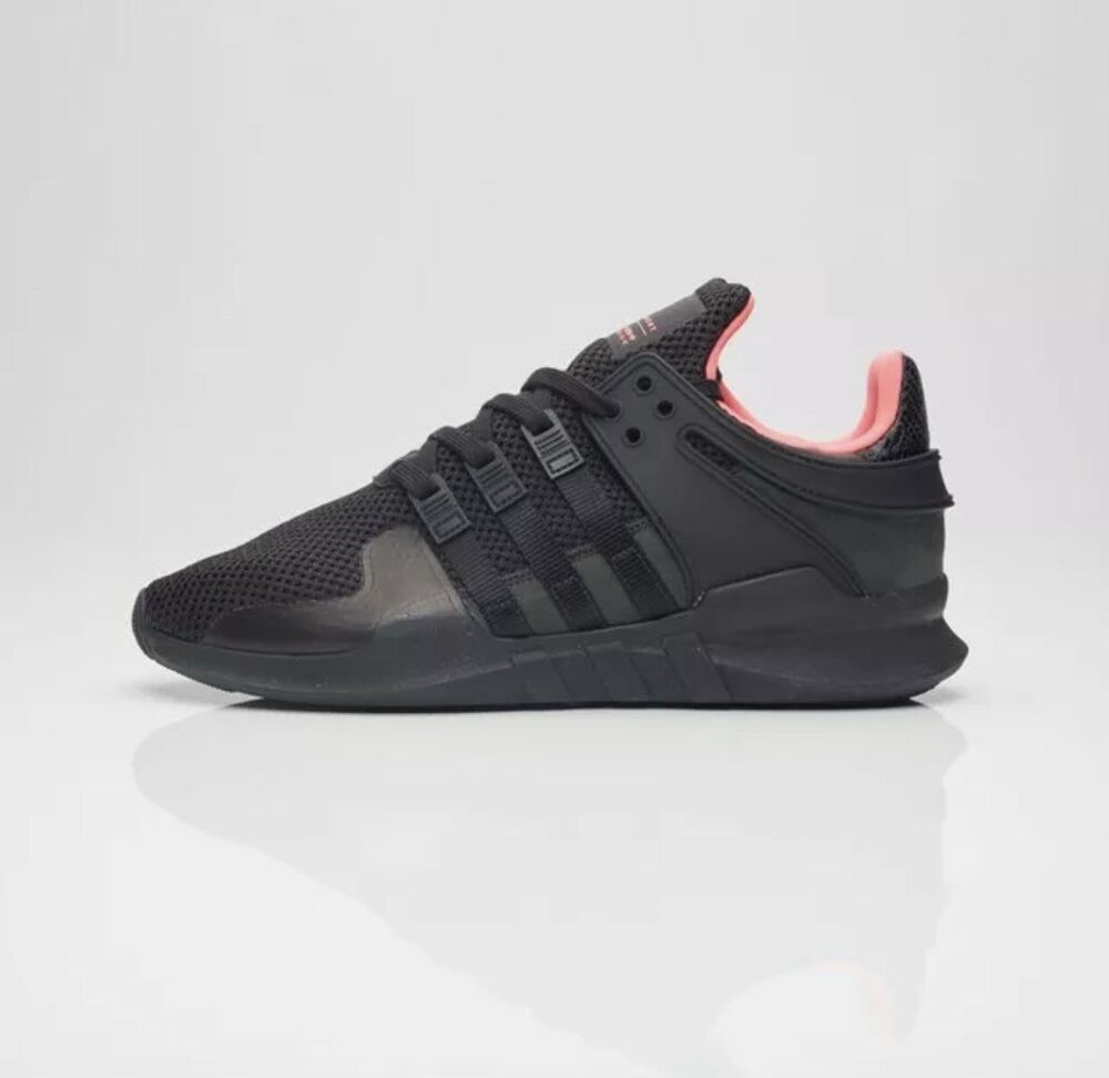new product 7a81b 33ce6 Details about Adidas MENs EQT Support ADV 2017 Limited Edition 9116 Core  Black - BB1300