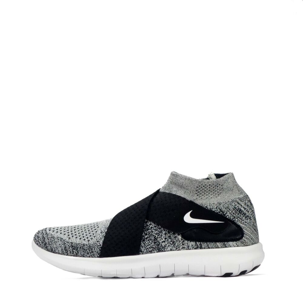 c1d4c1edcb39a Details about Nike Free RN Motion Flyknit 2017 Mens Running Trainers Shoes  Black White