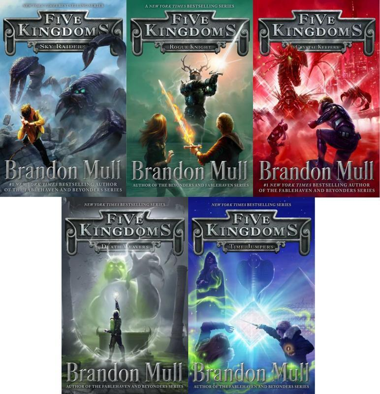 Five Kingdoms Adventure Series By Brandon Mull Hardcover Collection