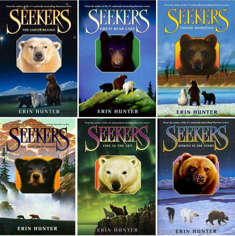 Warriors By Erin Hunter: Erin Hunter SEEKERS Childrens Fantasy Series Collection
