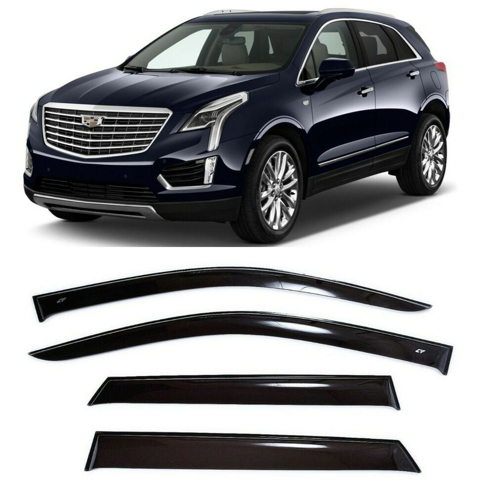 For Cadillac XT5 2016-2019 Window Visors Side Sun Rain
