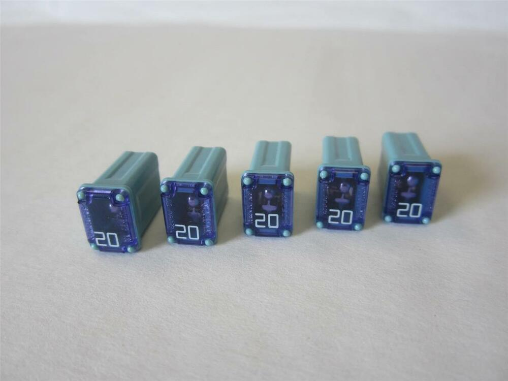 details about 5 savings lot of 20 amp blue little fuse littelfuse low  profile fmx 25a15001