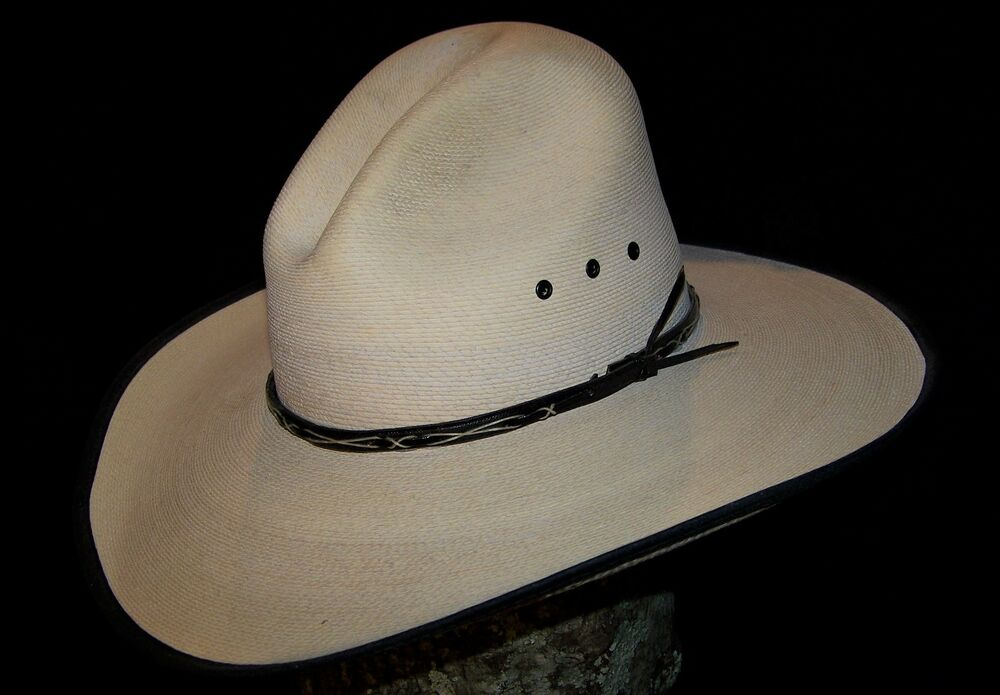 Details about Gus Style Straw Cowboy Hat (7) b698bcd4b73