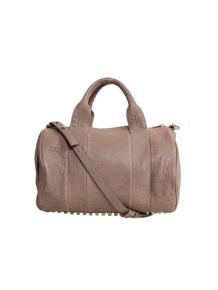 alexander wang rocco dumbo duffle bag taupe ebay. Black Bedroom Furniture Sets. Home Design Ideas