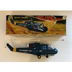 Vintage MARX Battery Operated Chop Chop Helicopter-J-9923