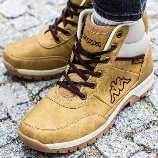 KAPPA BRIGHT MID LIGHT chaussures hommes montantes beige 242075/4141
