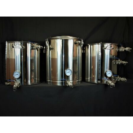 img-100Ltr Expert HERMS Microbrewery with thermo pot mash tun 2 pumps 1 heat X