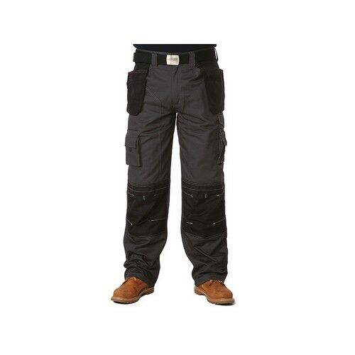 Apache APAHTG3332 Black & Grey Holster Trousers Waist 32in Leg 33in