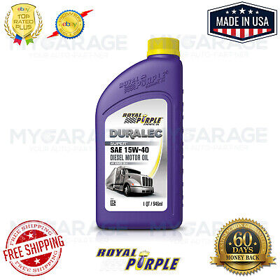Royal Purple High Performance Synthetic Motor Oil 01154 API-Licensed SAE 15W-40