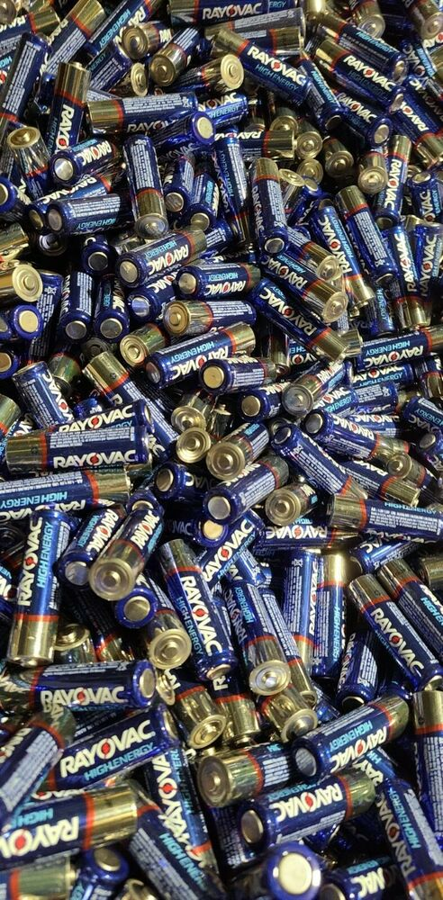 Rayovac High Energy Alkaline Aa Batteries In Bulk 100