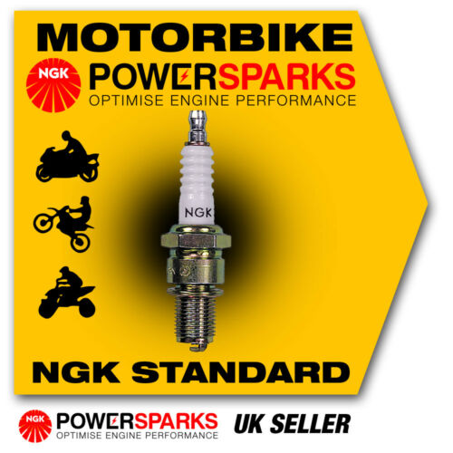 NGK Spark Plug fits CPI Hussar 50 (Euro 2) 50cc 03-> [BR7ES] 5122 New in Box!