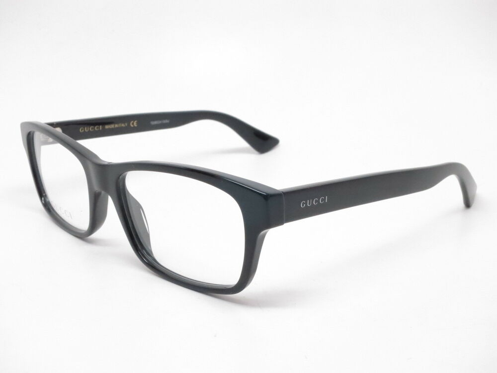 26f78324d4a4a Details about New Authentic Gucci GG0006O 005 Black GG 0006O Eyewear  Eyeglasses