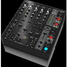 BEHRINGER PRO MIX DJX750 5-Channel DJ Mixer w/ Digital FX BPM 3-band EQ