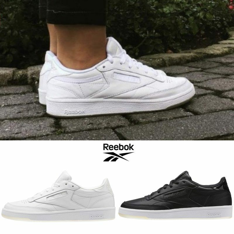 35af8e10701d3 REEBOK Classic Club C85 Melted Metals Casual Sneakers Shoes BS5163 BD5816  SZ4-13. black. WHY US