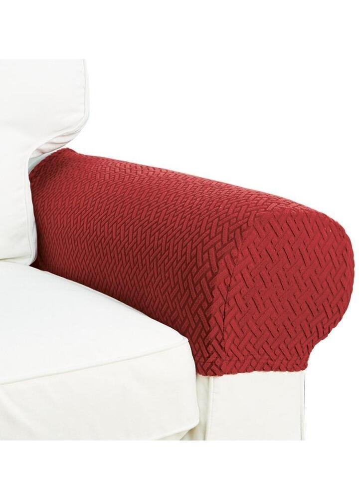 Armrest Covers Stretchy Set Chair Or Sofa Arm Protectors