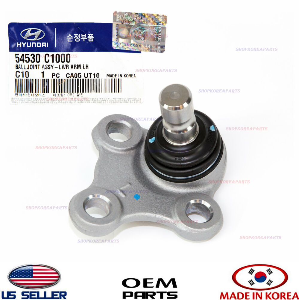 Ball Joint Lower Arm Front Left Genuine Sonata Optima Sportage