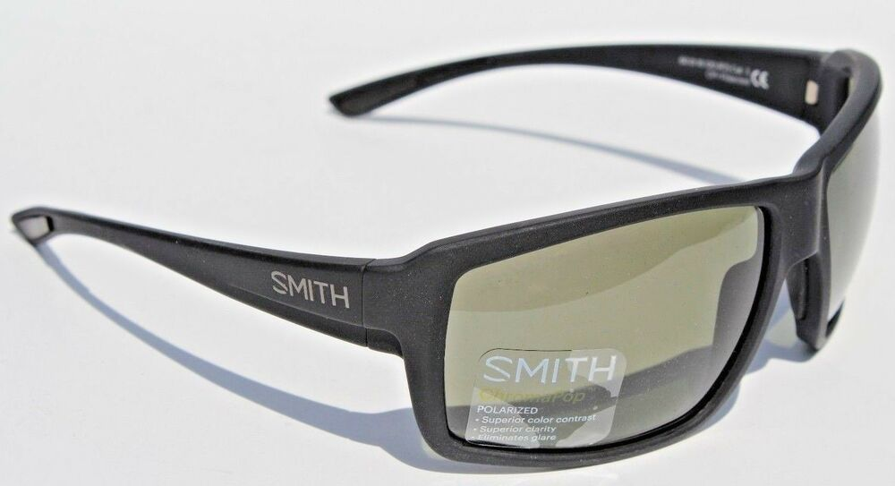 511b576976 Details about SMITH OPTICS Colson POLARIZED Sunglasses Matte Black Gray  Green ChromaPop NEW