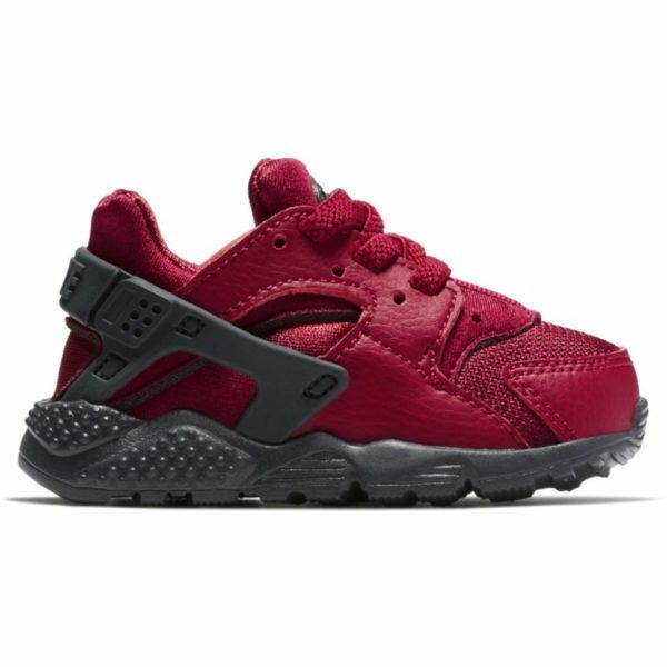 769287b20203b Details about NIKE HUARACHE RUN TD NOBLE RED 704950-603 TODDLER ANTHRACITE  BOYS GIRLS RETRO