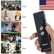 T8S Smart Voice BT Translator Device Talking Real Time English to 40+ Languages