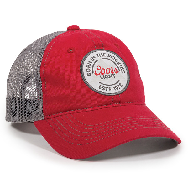 6e2460bfcb3 Outdoor Cap Unisex-Adult Coors Light Casual Cap Collection