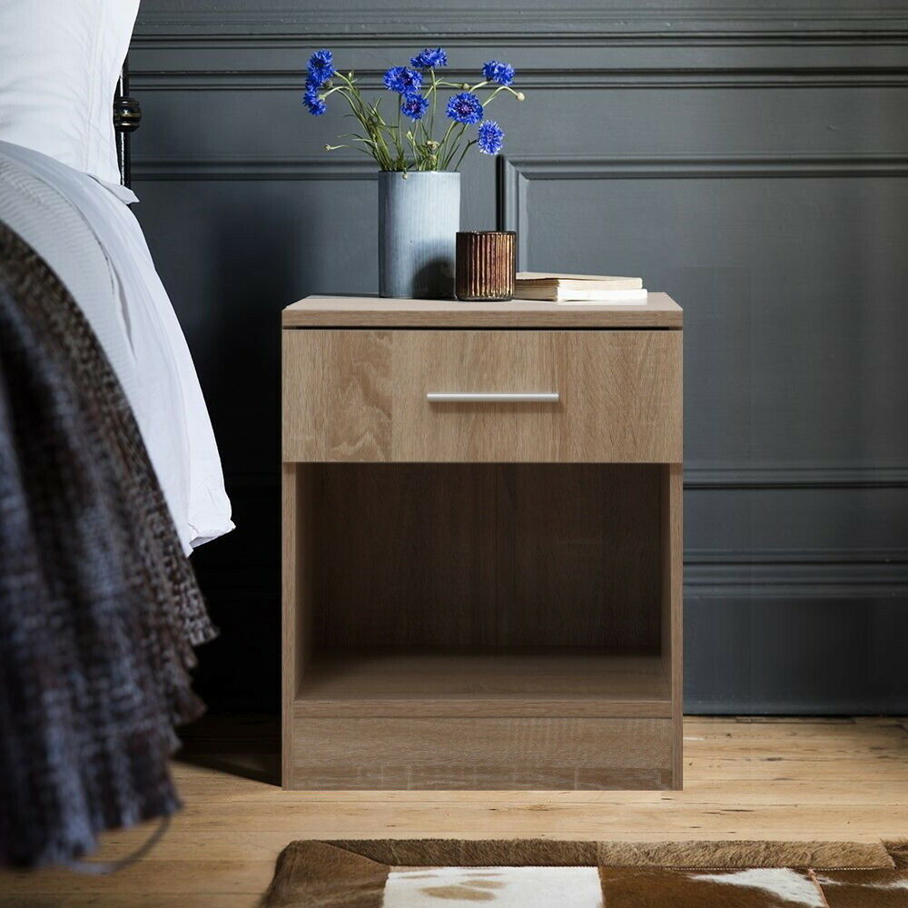 White Max Wardrobe 120cm Wide 2 Sliding Door With Hanging